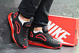 Мужские кроссовки Nike Air Max 720 Black/Red (, фото 6
