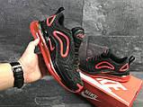 Мужские кроссовки Nike Air Max 720 Black/Red (, фото 7