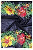 Пляжное женское парео в ярких контрастных расцветках