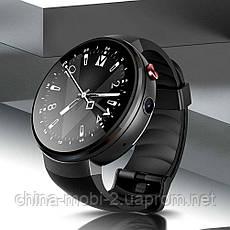 Смарт часы Lemfo LEM7 black+ 700mAh банк заряда, фото 3