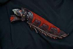 """Эксклюзивный нож ручной работы """"Индеец-5"""", дамасск, фото 2"""