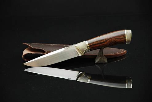 """Авторский нож ручной работы """"Классик"""", М390, фото 2"""