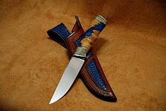 """Охотничий нож ручной работы """"Классик"""", М390 (наличие уточняйте)"""