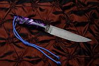 """Подарочный нож ручной работы """"Северное сияние"""", дамасск"""