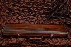 """Набор шампуров ручной работы """"Viking"""" в футляре из морёного вяза. Лучший подарок мужчине., фото 3"""