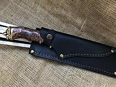 """Шампура ручной работы """"Львы"""" с красивым ножом, фото 2"""