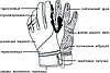 Велоперчатки PowerPlay 6916 Черные M, фото 3