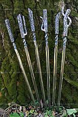 "Набор кованных шампуров ""Spirit of the forest"", 6шт., фото 2"