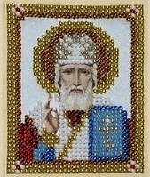 Святий Миколай Чудотворець (друк на тканині)