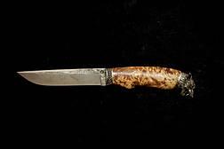 """Нож для охоты, рыбалки, туризма ручной работы """"Вожак"""" №2, 95Х18, фото 3"""