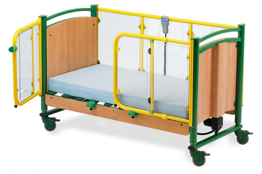 Кровать медицинская для детей с  электроприводом Kängbo 70 x 140 (Hermann Bock)
