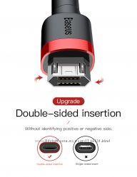 Кабель Micro USB 2 м. Baseus