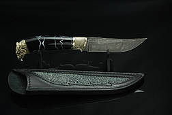 """Нож охотничий ручной работы """"Сокол"""", дамаск, фото 2"""