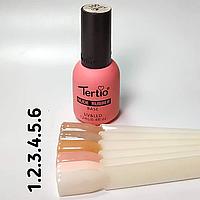Прозрачная база Tertio каучуковая, No 1 Rubber Nude 12 мл