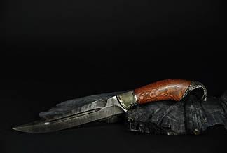 """Охотничий нож ручной работы """"Кобра"""", дамасск, фото 3"""