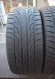 Летние шины б/у 275/40 R 20 Dunlop, 5 мм, пара, фото 2