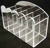Подставка для кистей и пилок, 5 секций