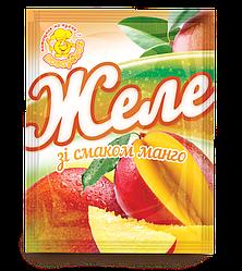 Желе со вкусом манго 85 г.