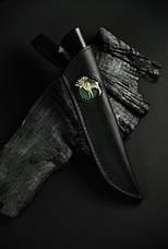 """Охотничий нож ручного изготовления """"Emovere"""", дамасск, фото 3"""