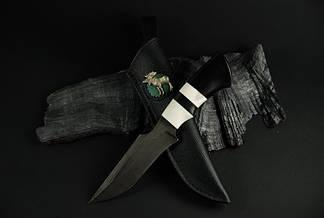 """Охотничий нож ручного изготовления """"Emovere"""", дамасск, фото 2"""