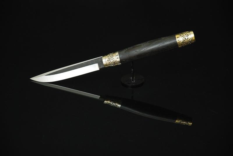"""Оригинальный нож ручной работы """"Кельт-2"""", N690 (беспроигрышный подарок мужчине)"""