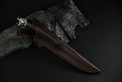 """Подарочный нож ручной работы """"Миха"""", дамасск, фото 3"""