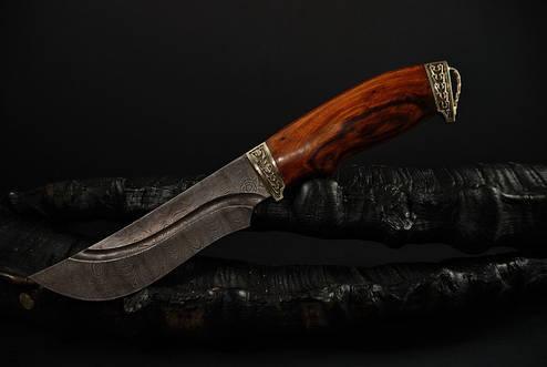 """Охотничий нож ручной работы из дамасской стали """"Гефест"""", фото 2"""