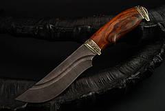 """Охотничий нож ручной работы из дамасской стали """"Гефест"""", фото 3"""