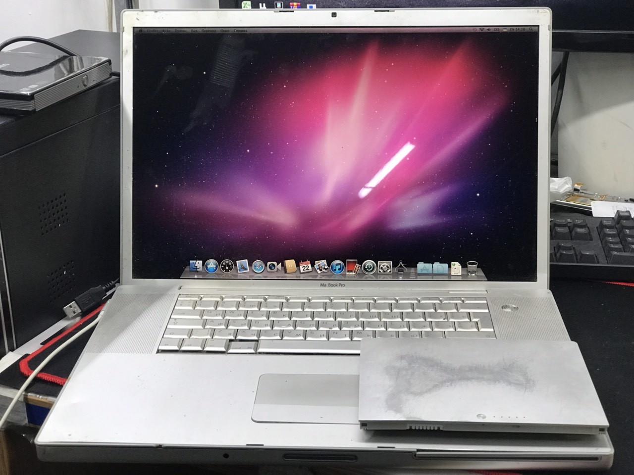 """Apple MacBook Pro A1226 2008 15.4"""" с игровой видео"""