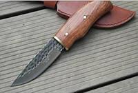 Нож кованный Herbertz ALSI 420 + чехол из кожи для ножа , фото 1