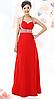 Элегантное длинное  платье