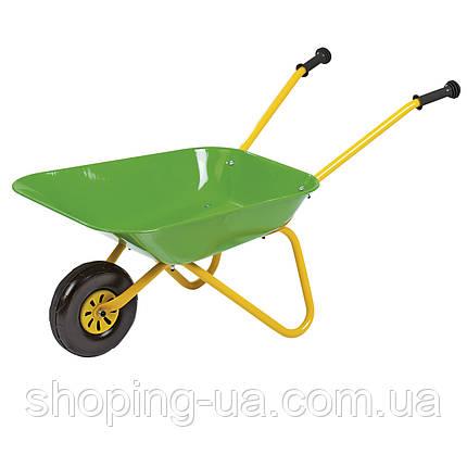 Тачка садовая детская зеленая Rolly Toys 271801, фото 2
