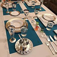 Сервировочный набор посуды стекловидный CFP 116 шт/6 пер для фуршета банкета презентации выставки party