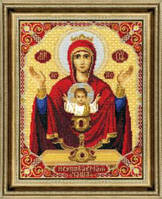 Набор для вышивки «Икона Пресвятой Богородицы Неупиваемая Чаша»