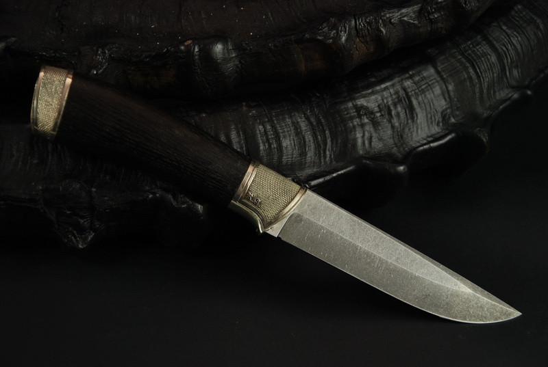 """Нож для охоты ручной работы """"Надежный"""", К110"""