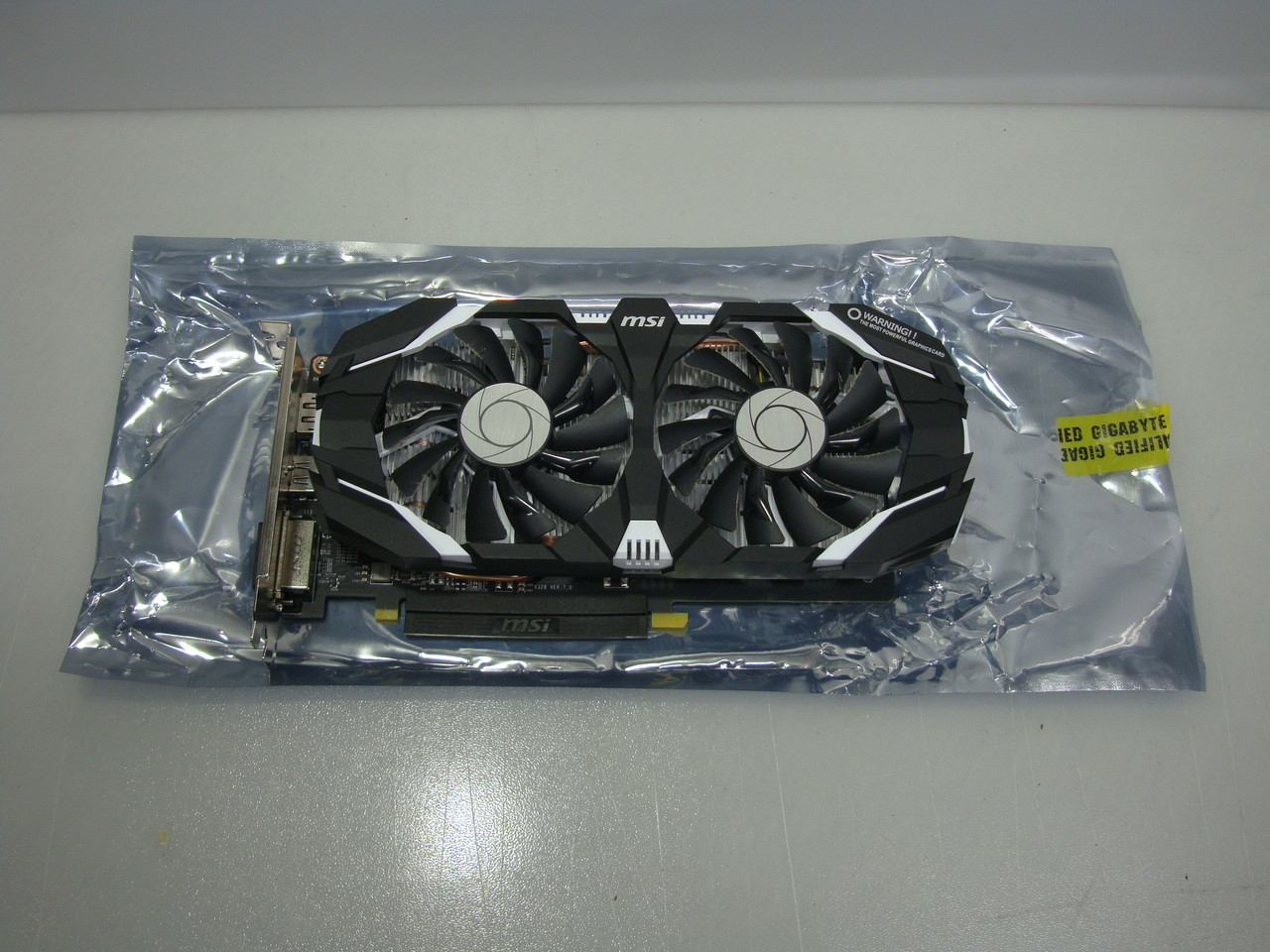 Видеокарта MSI GeForce GTX 1060 OC 6GB GDDR5