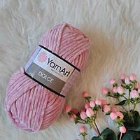 Пряжа YarnArt Dolce цвет Сухая Роза  769