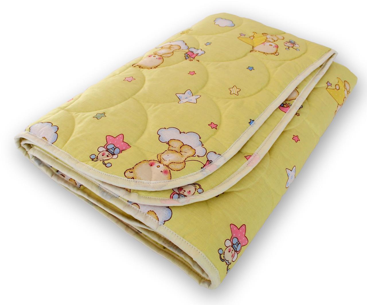 Одеяло полуторное Евро QSLEEP 4 сезона 155*215 см детский пастельный