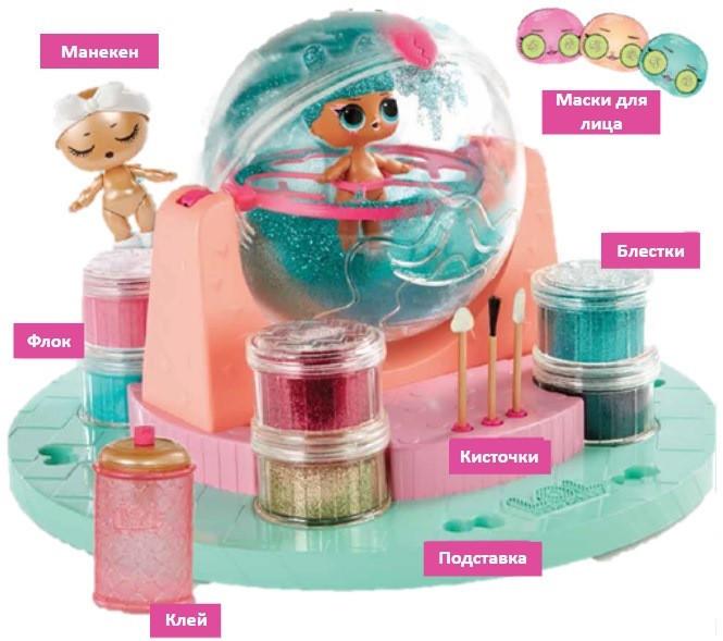L.O.L. Surprise! L.O.L.  DIY Glitter Factory, MGA  (Л.О.Л. Сюрприз! Игровой набор. Фабрика Волшебства, 556299)