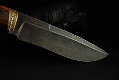 """Авторский нож ручной работы """"Mastiff"""", дамасск, фото 3"""