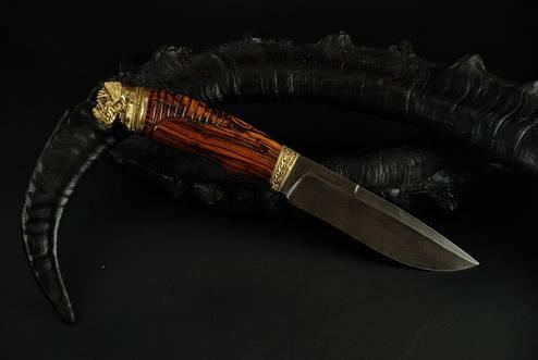 """Авторский нож ручной работы """"Mastiff"""", дамасск, фото 2"""