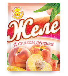 Желе со вкусом персика 85 г.