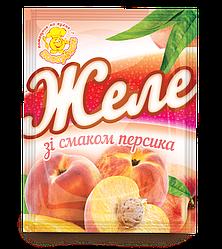 Желе зі смаком персика 85 г.