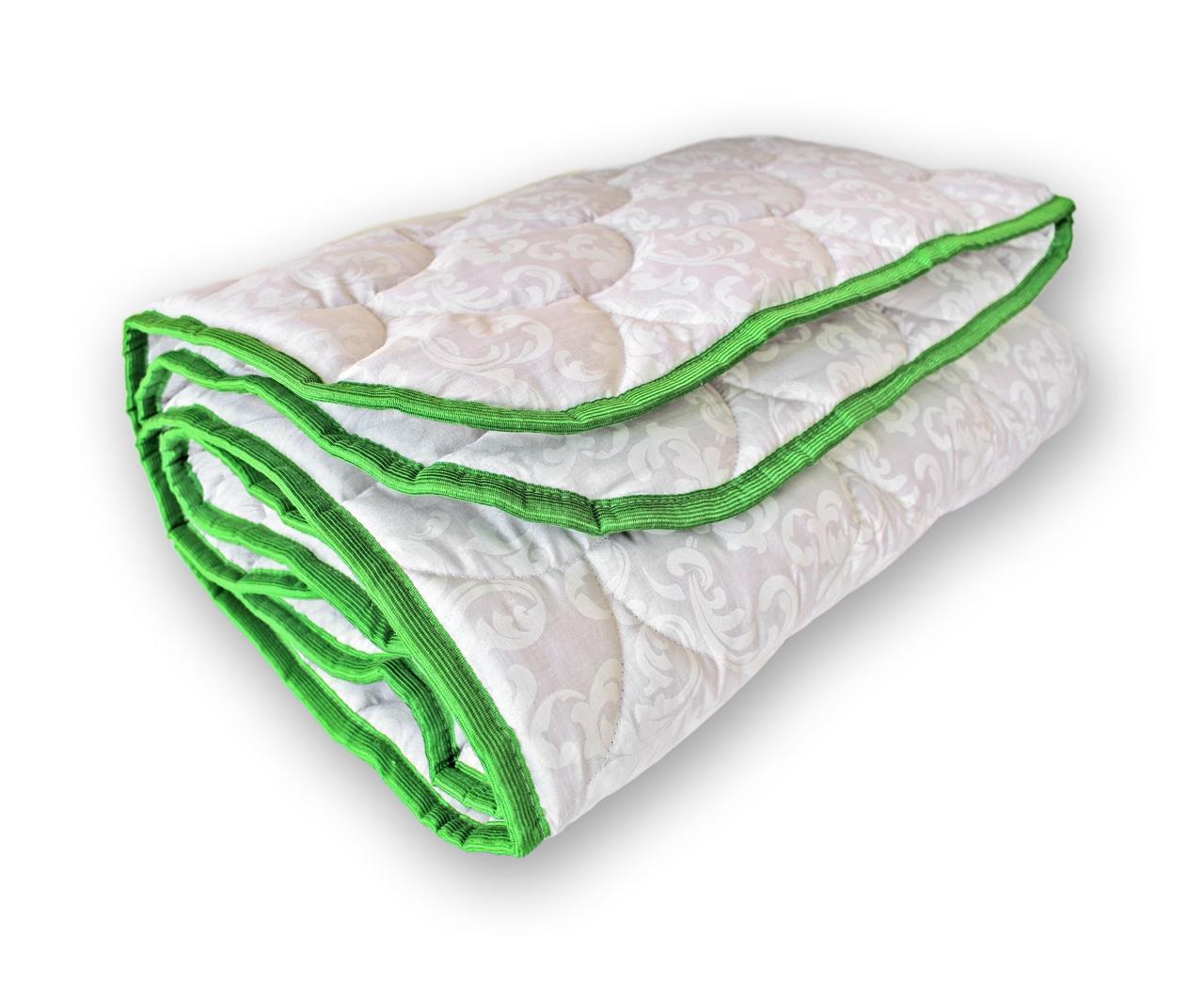 Одеяло полуторное QSLEEP теплое полушерсть 140*205 см белый