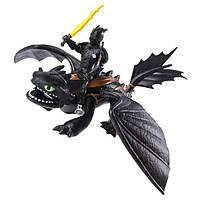 Набор Dragons Дракон Беззубик и всадник Иккинг (SM66621/7311), фото 1