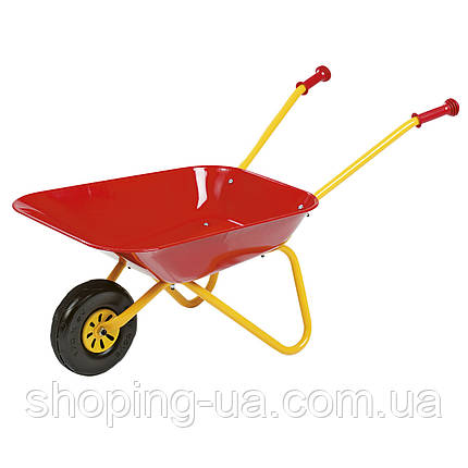 Тачка садовая детская красная Rolly Toys 270804, фото 2