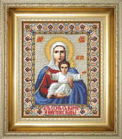 """Набор для вышивки «Икона Божьей Матери """"Аз есмь с вами и никто же на вы»"""