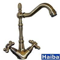 Кухонні змішувачі Haiba Dominox 777 Bronze