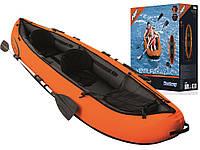 Байдарка надувная, каяк Hydro Force 2 - местный - 3,3 * 0,94 м.