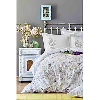 Набор постельное белье с покрывалом пике Karaca Home - Elizia 2018-2 евро